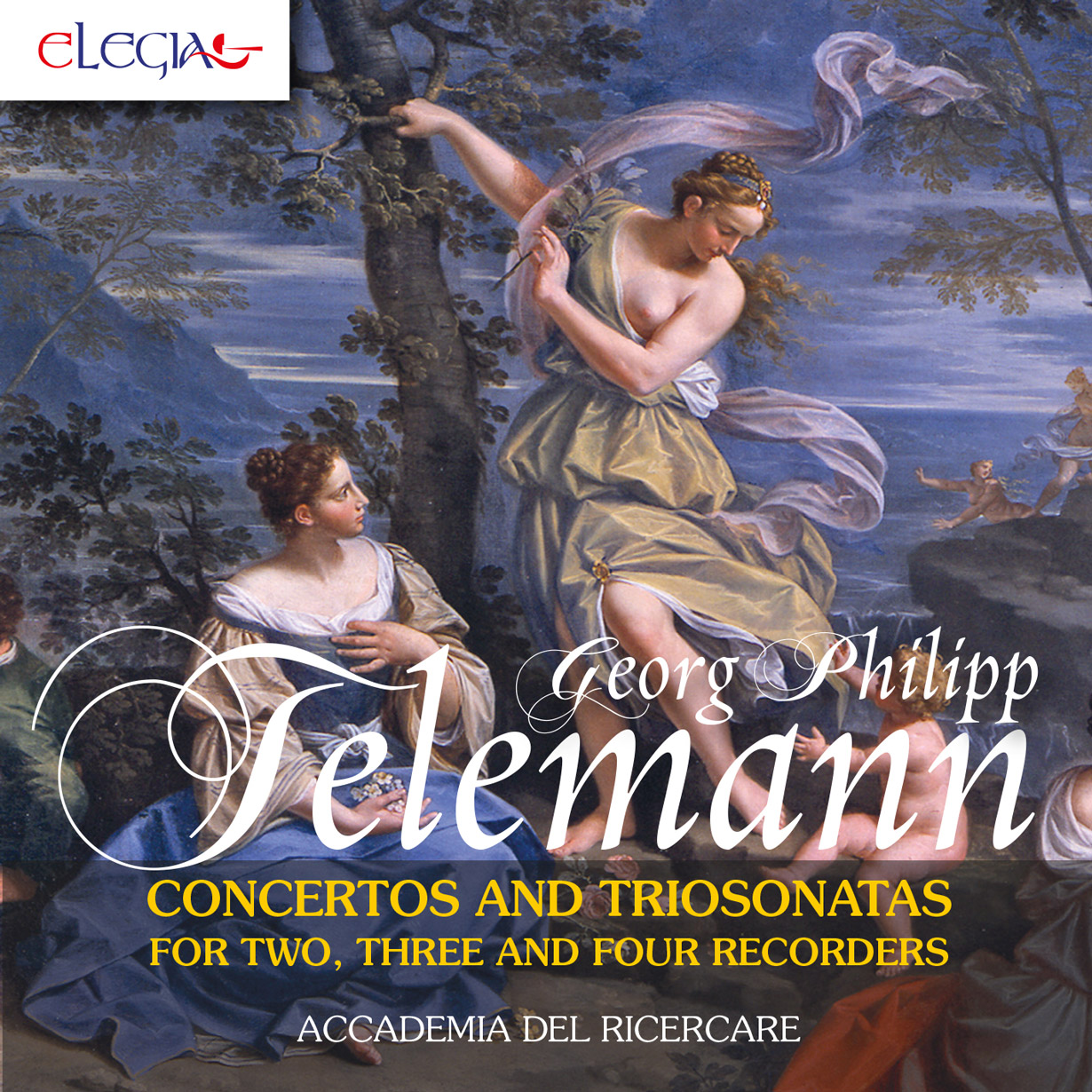 Georg Philipp Telemann. Concertos and triosonatas